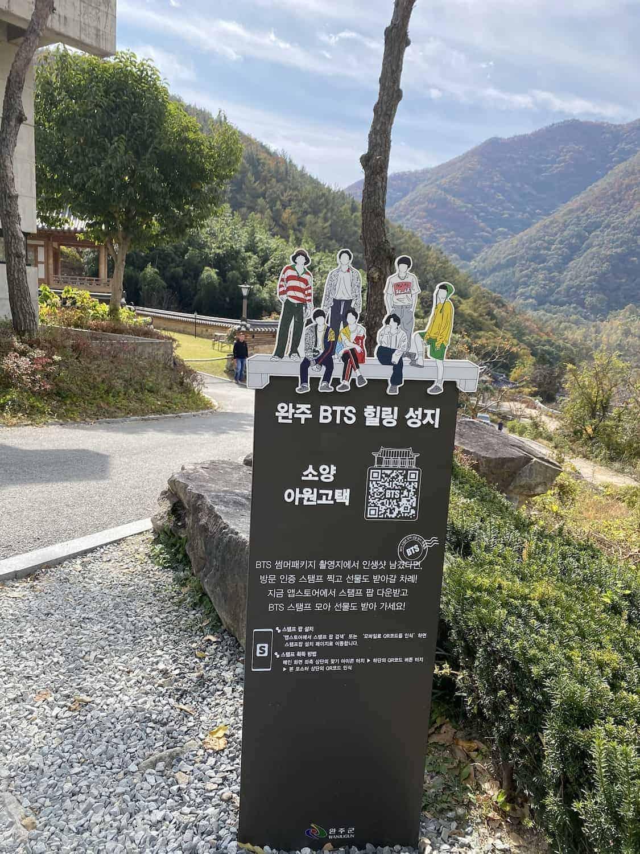 Wanju BTS Route Tour in Korea