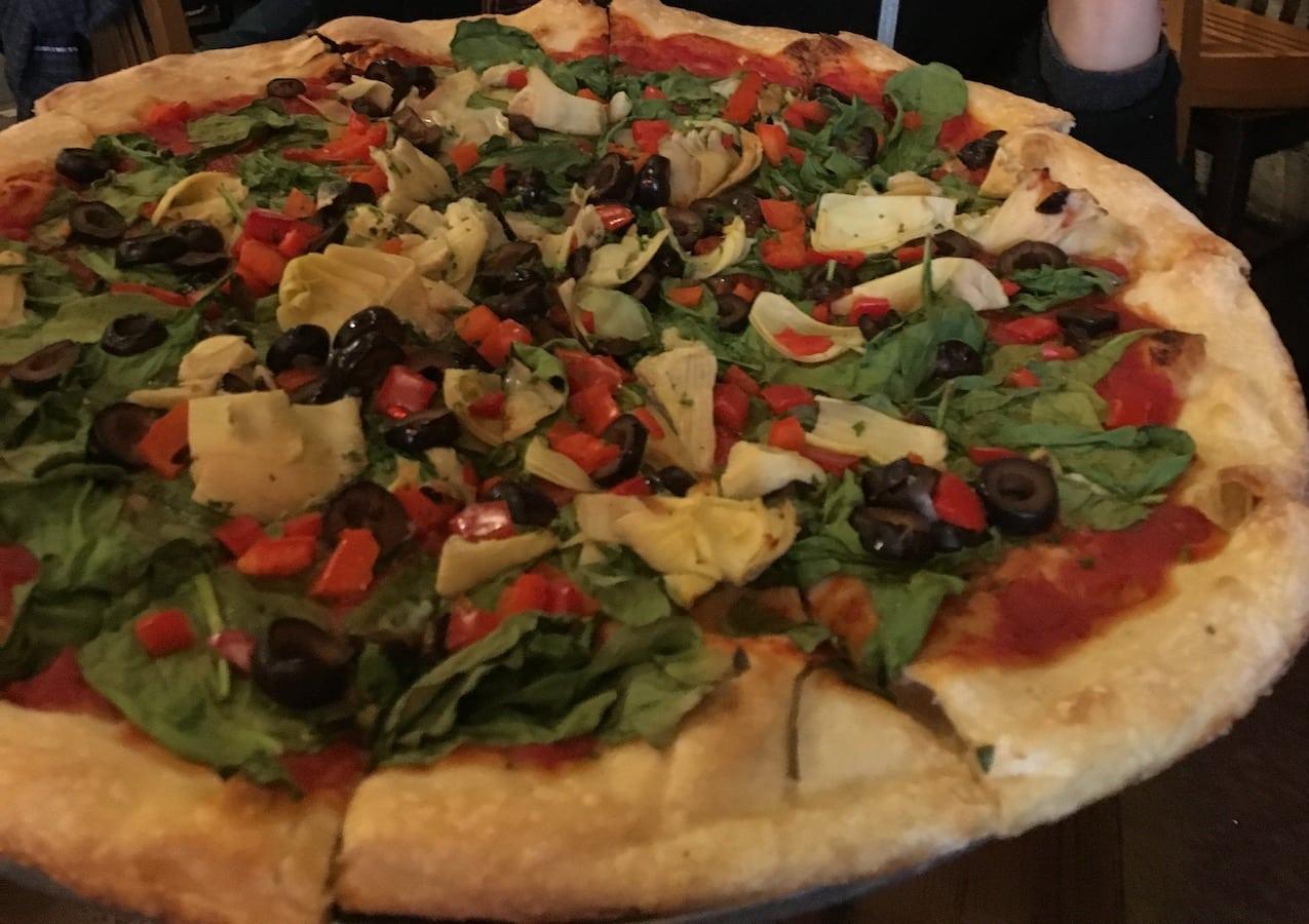 Vegetarian Pizza Russian River Brewing Santa Rosa CA