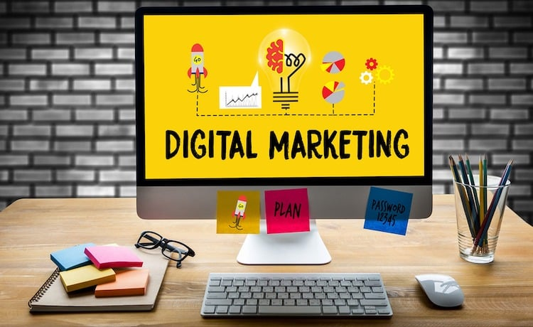 digital marketing agency menu