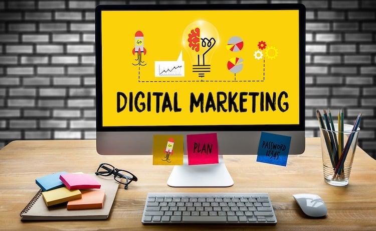 digital marketing agency menu