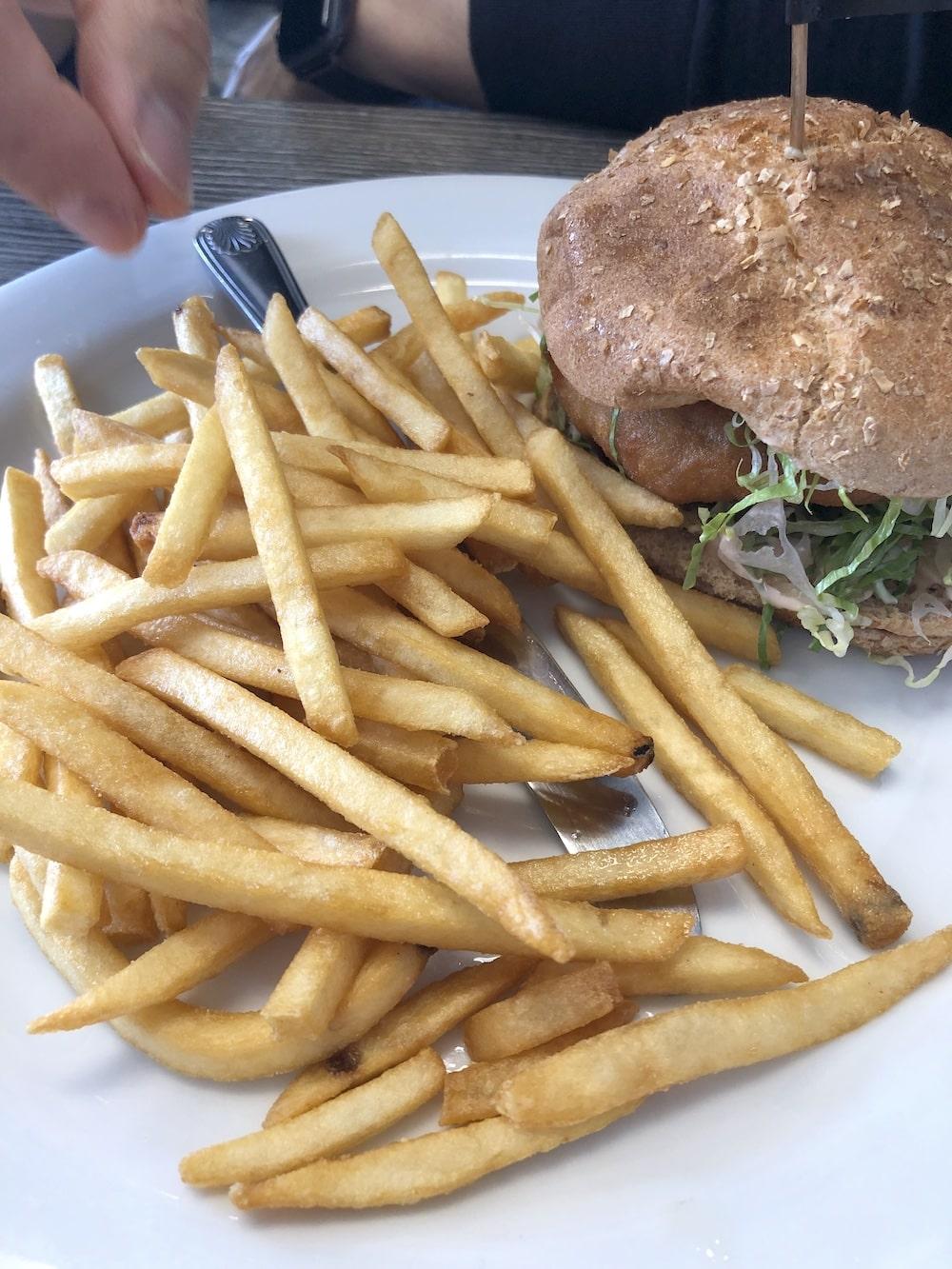 Yard House Vegan Burger Las Vegas